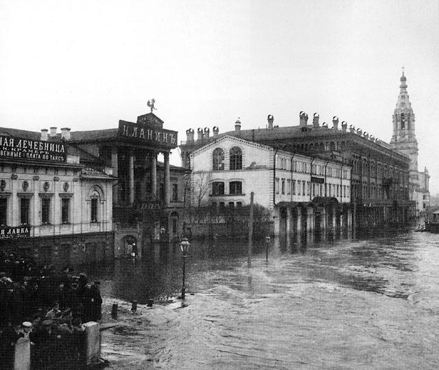 Самое сильное наводнение в Ленинграде