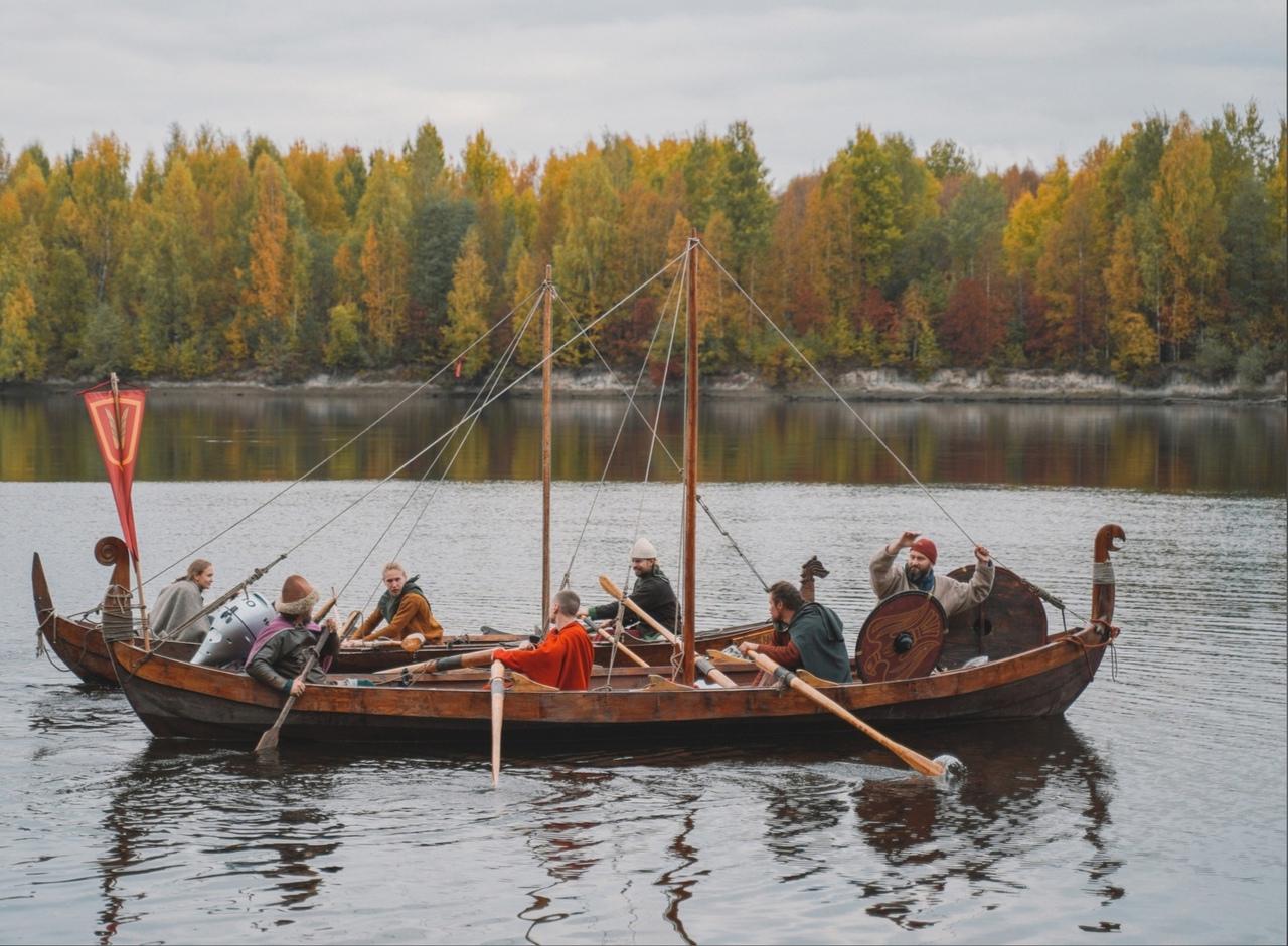 Необычный поход по рекам Ленинградской области