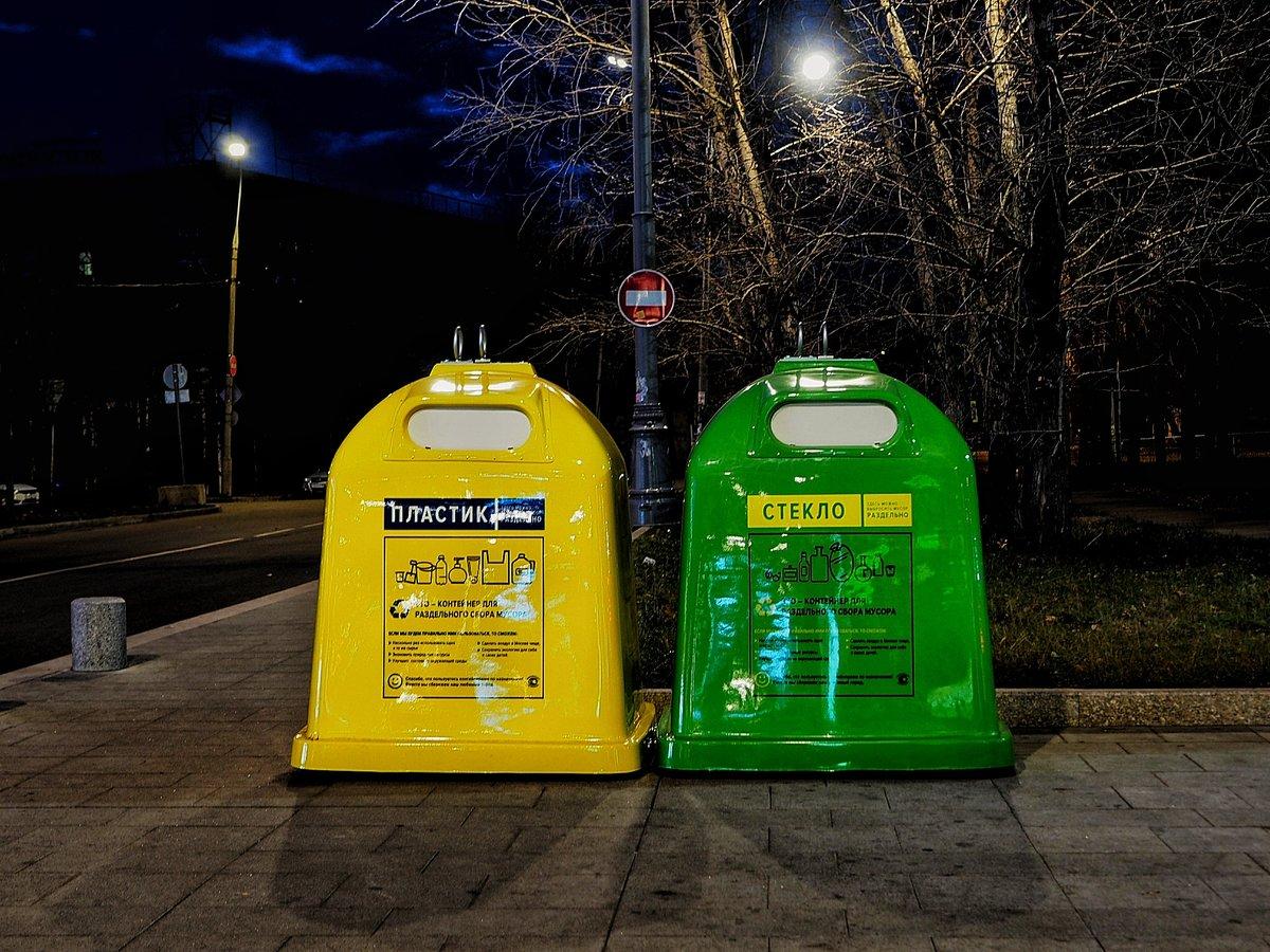 Раздельный сбор мусора в Ленинградской области