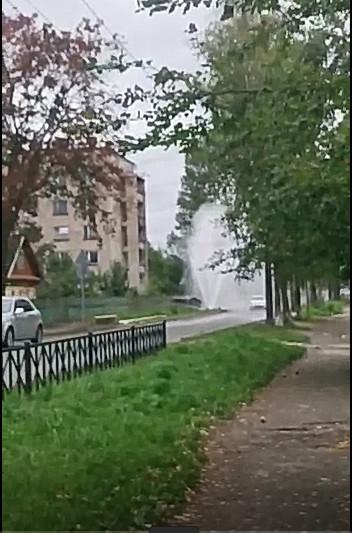 Авария на улице Калинина