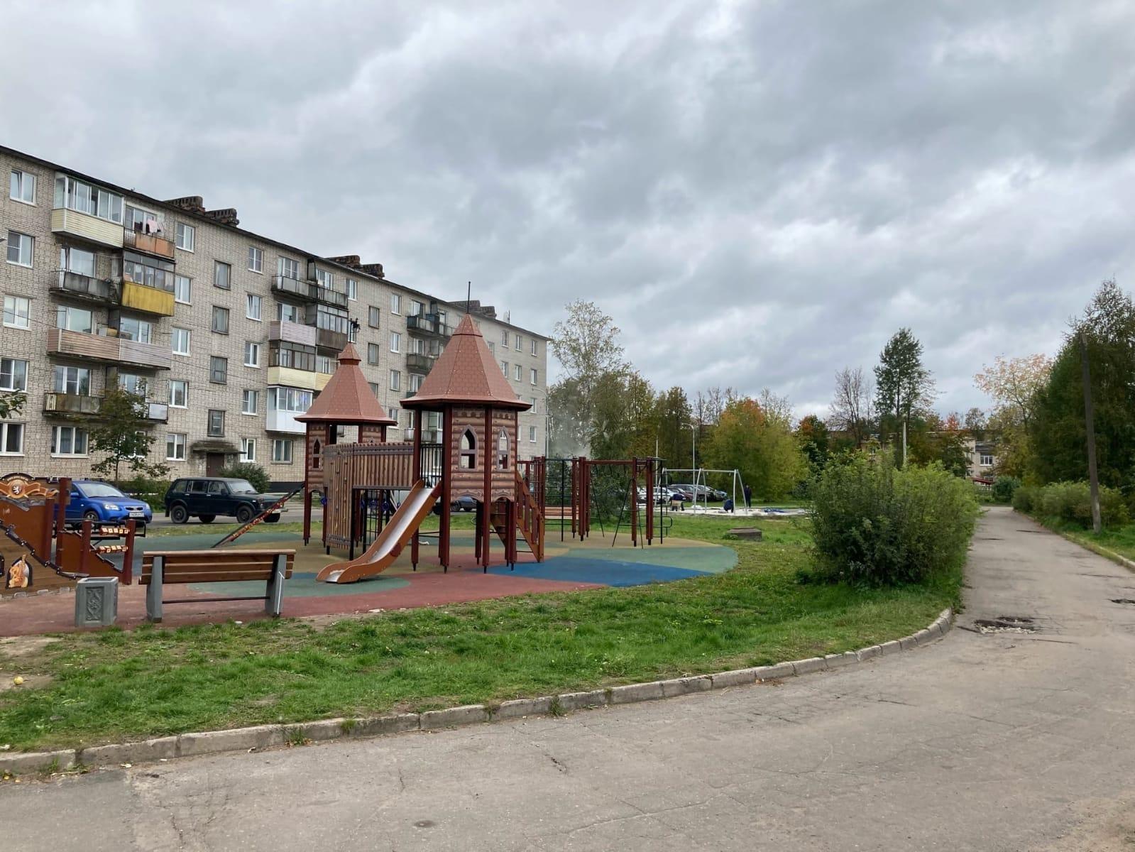 В Сясьстрое реализуется проект благоустройства