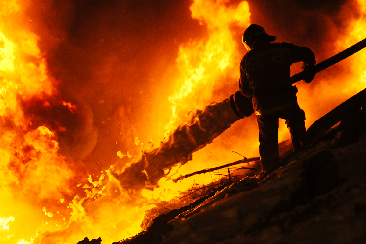 Пожар в садоводстве «Пиркиничи». Есть пострадавший
