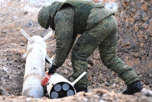 Больше тонны авиабомб уничтожили в Ленобласти