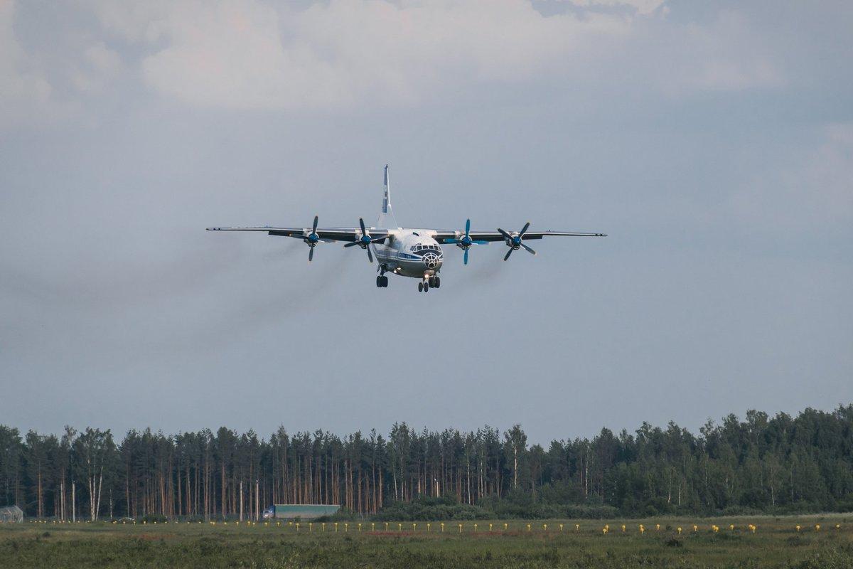 В Ленобласти пилоты тренировали «Афганскую» посадку