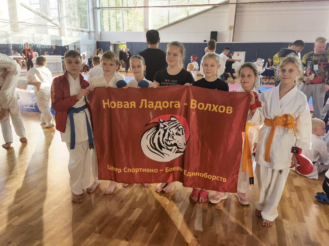 Волховчане взяли медали на кубке по карате