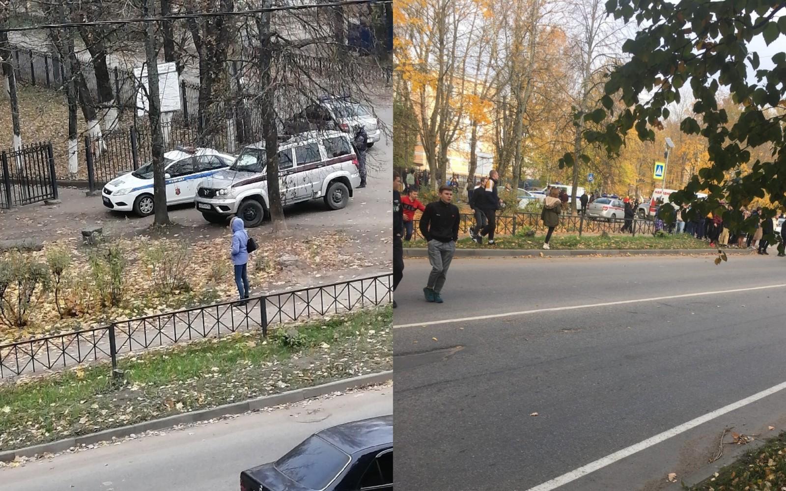 В Волхове эвакуировали колледж