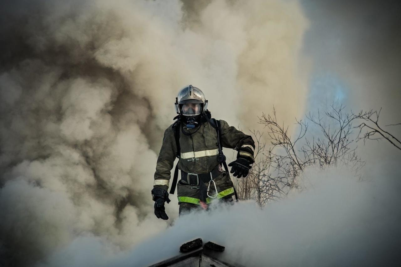 В Волховском районе потушен пожар