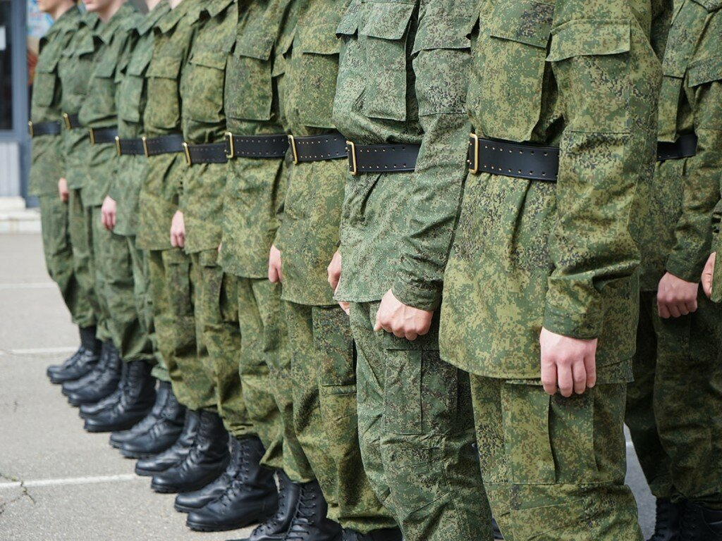 Начался осенний призыв в армию России